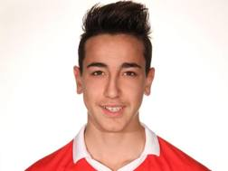 Gaetano Castrovilli, classe '97, centrocampista del Bari Primavera. Foto fcbari1908.club