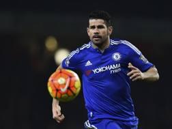 Diego Costa, 27 anni, attaccante del Chelsea. Afp