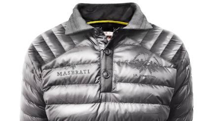 Ecco la Polo invernale Duvet realizzata da La Martina per Maserati