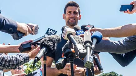 Novak Djokovic, 28 anni EPA