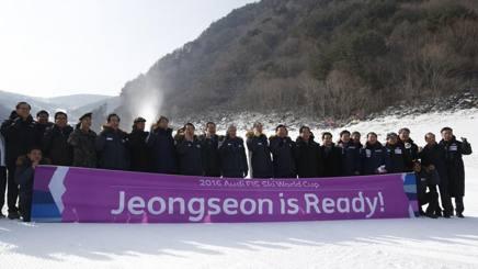 Jeongseon pronta per la Coppa. Ap