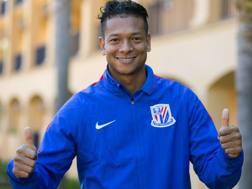 Fredy Guarin, 29 anni, nuovo centrocampista dello Shanghai Shenhua. Lapresse