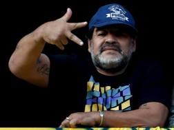 Diego Armando Maradona, 55 anni, ha vestito la maglia del Napoli dal 1984 al 1991. Action Images