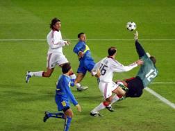 La finale di Coppa Intercontinentale del 2003 tra Milan e Boca Juniors. Lapresse
