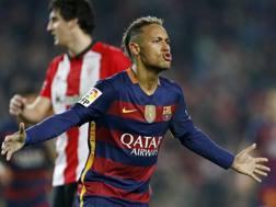 Neymar, 24 anni. Epa