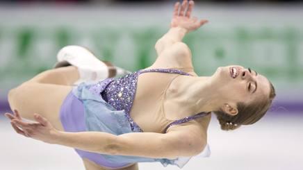 Carolina Kostner, 29 anni, un oro mondiale e un bronzo olimpico AP