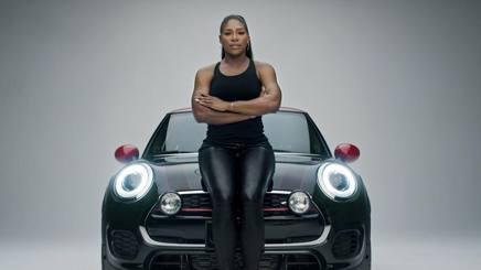 Serena Williams nello spot del Super Bowl. Ap