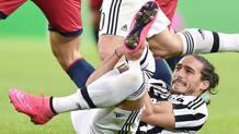 Martin Caceres, 28 anni, difensore uruguaiana, dal 2012 vesta la maglia della Juventus. Ansa