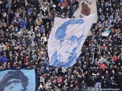 Un'immagine dei tifosi del Napoli. LaPresse