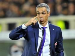 L'allenatore della Fiorentina, il portoghese Paulo Sousa.
