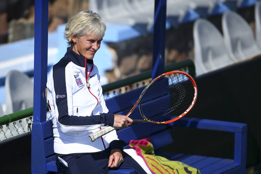 Judy Murray, capitano dell'Inghilterra impegnata nel weekend in Israele.