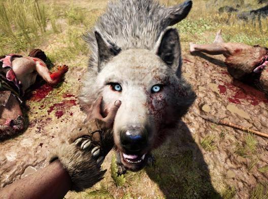 Una scena del gioco Far Cry Primal