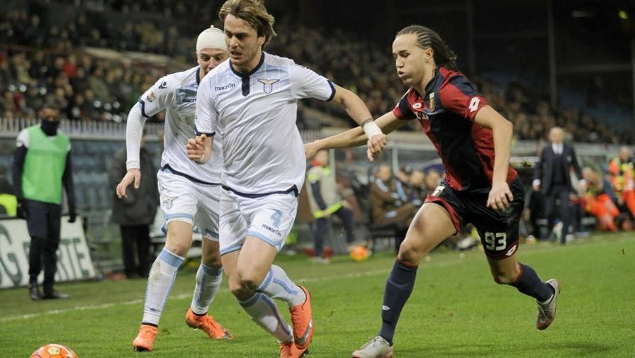 Genoa-Lazio, vince la noia Solo una traversa di Mauri<br/> <b>I biancocelesti...