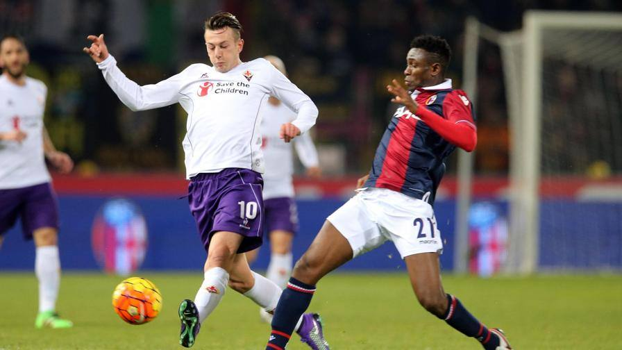 Bernardeschi non basta Viola, frenata Champions<br/> <b>Fiorentina in dieci,...