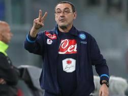 Maurizio Sarri. Ansa