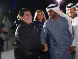 Diego Armando Maradona, 55 anni. Getty