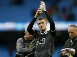 Jamie Vardy, 29 anni, 18 gol in Premier. Reuters