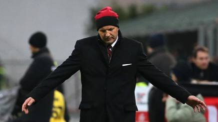 Sinisa Mihajlovic, prima stagione sulla panchina del Milan. Ansa