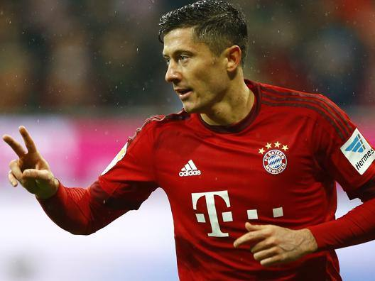 Robert Lewandowski. Ap