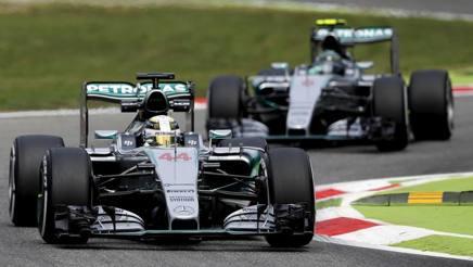 Hamilton e Rosberg. Reuters