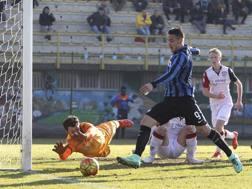Rey Manaj, 19 anni, ha debuttato sabato con la Primavera dell'Inter contro il Cagliari dopo 3 gare in serie A. Getty Images