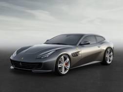 La nuova Ferrari GTC4Lusso che debutterà a Ginevra.
