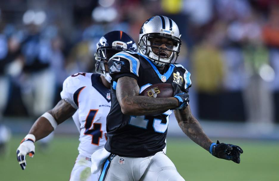 Ted Ginn, jr. dei Carolina Panthers (Afp)