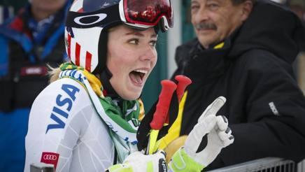 Mikaela Shiffrin, 21 anni, pronta a tornare in gara. Ap