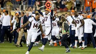 Il trionfo dei Denver Broncos AP