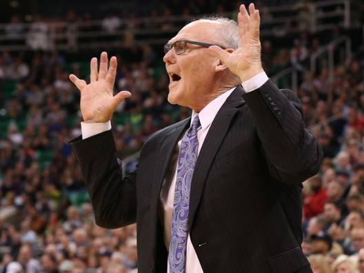 George Karl, 63 anni, da un anno coach di Sacramento. Reuters