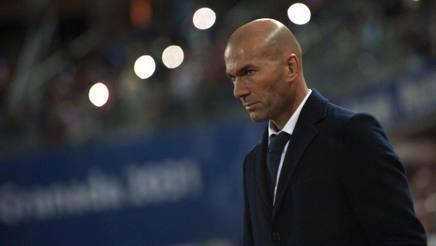 Zinedine Zidane, 43 anni. Getty