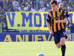 Giovanni Lo Celso, nato il 9 aprile 1996 a Rosario: in prima squadra ha 13 partite in campionato e 3 di coppa, con 3 assist