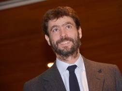 Andrea Agnelli (40 anni), presidente della Juventus. LaPresse
