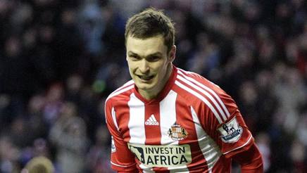 Adam Johnson, centrocampista Sunderland, 28anni. AFP