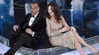 Carlo Conti (54 anni) e Virginia Raffaele (35). Ansa
