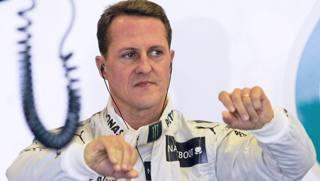 Michael Schumacher, 7 volte iridato in F.1. Epa