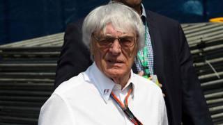 Bernie Ecclestone, boss della F.1. LaPresse