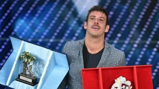 Francesco Gabbani, vincitore dei giovani. Ansa