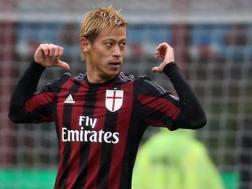 Keisuke Honda, 29 anni, 1 gol in campionato. Ansa