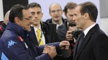 Maurizio Sarri e Massimiliano Allegri REUTERS