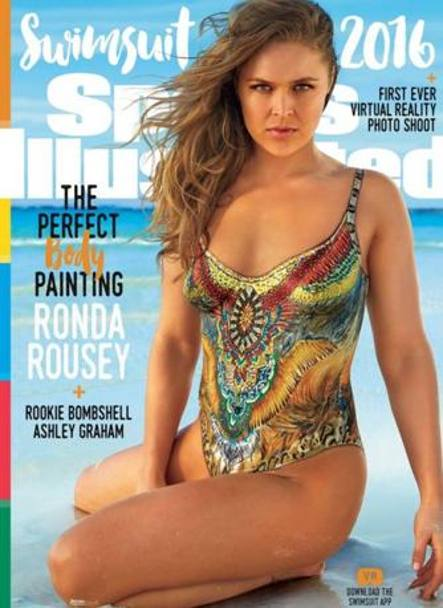 La Rousey nella copertina di Sports Illustrated
