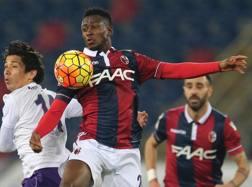 Amadou Diawara, 18enne centrocampista guineano del Bologna. Ansa