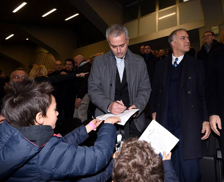 Mou firma autografi. Getty