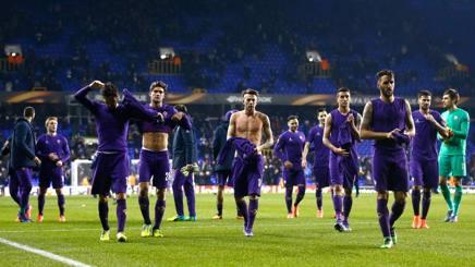 La Fiorentina lascia il campo delusa. Getty