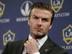 David Beckham, 40 anni. LaPresse