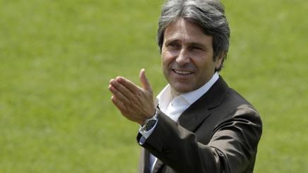 Gian Paolo Montali in una visita in Gazzetta. Mancini