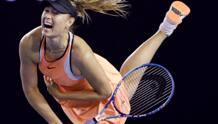 Maria Sharapova, 28 anni, 5 Slam vinti. Ap