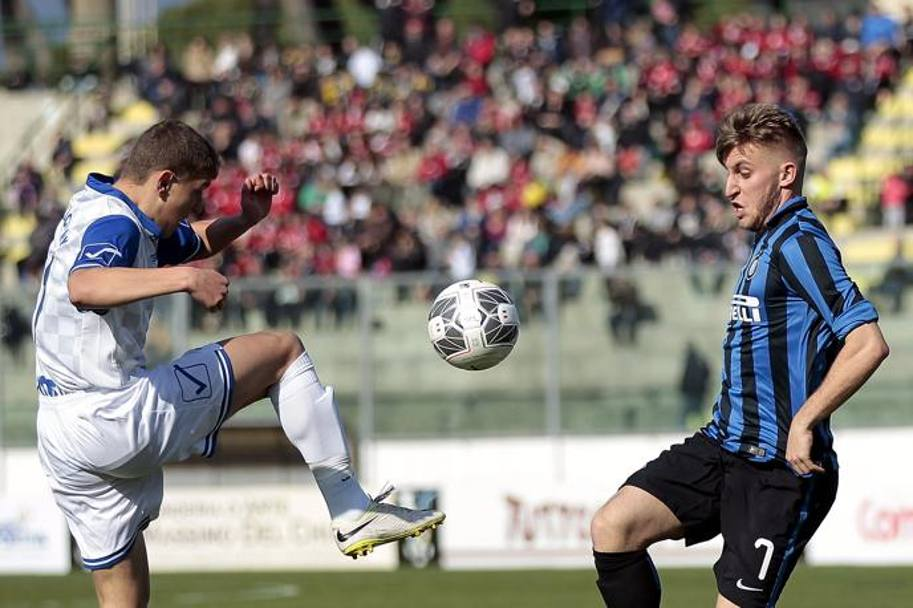 Moment of the game; photo: La Gazzetta dello Sport