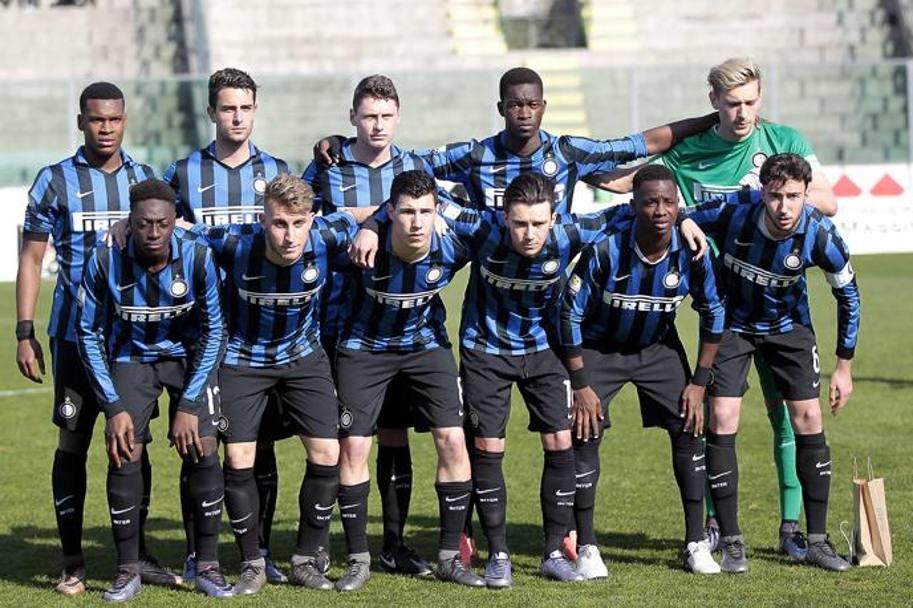 The Inter 11 that started the match: photo: La Gazzetta dello Sport