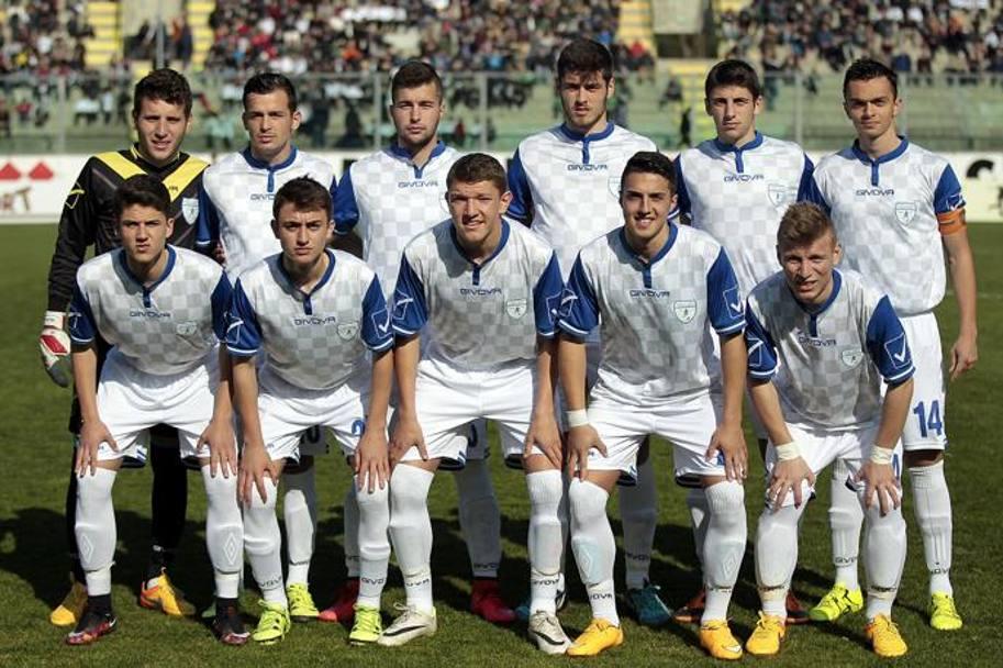 The starting 11 of Akademija Pandev; photo: La Gazzetta dello Sport